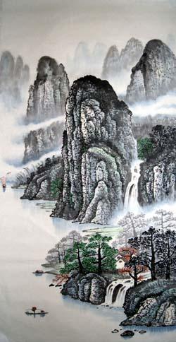 阳朔纪念品之桂林山水画11