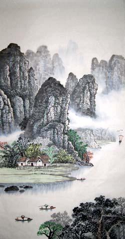 阳朔纪念品之桂林山水画12