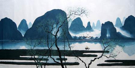 阳朔旅游纪念品之桂林山水画19