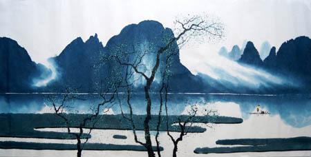 桂林旅游纪念品之桂林山水画21