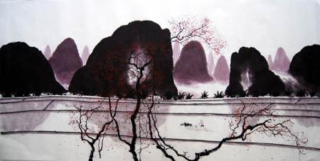 阳朔纪念品之桂林山水画18