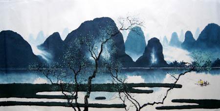 桂林旅游纪念品之桂林山水画24