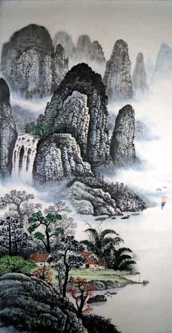 阳朔纪念品之桂林山水画15