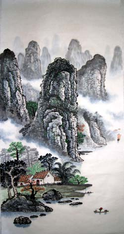 阳朔纪念品之桂林山水画14