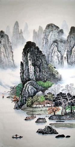 阳朔纪念品之桂林山水画16