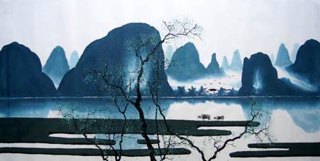 桂林旅游纪念品之桂林山水画23
