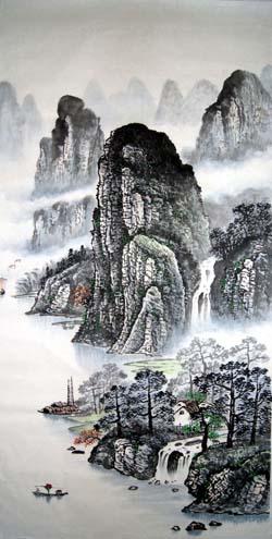 阳朔纪念品之桂林山水画13