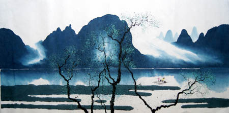 桂林旅游纪念品之桂林山水画25