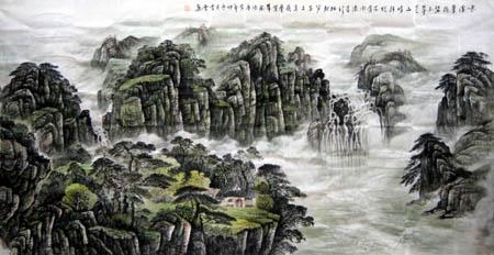 桂林旅游纪念品之桂林山水画30