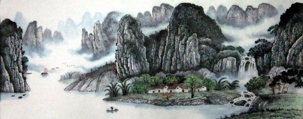 桂林旅游纪念品之桂林山水画36