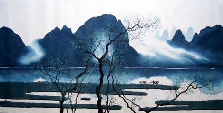 桂林旅游纪念品之桂林山水画27