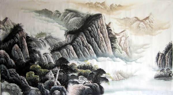 桂林旅游纪念品这桂林山水画41
