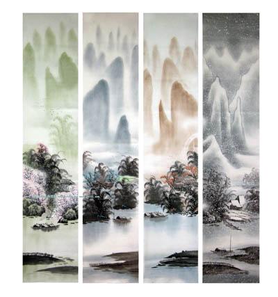 阳朔旅游纪念品之桂林山水画40