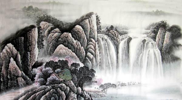 阳朔旅游纪念品之桂林山水画47