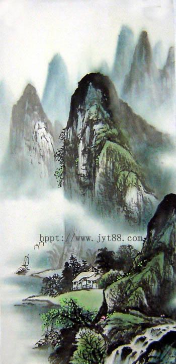 阳朔旅游纪念品之桂林山水画67