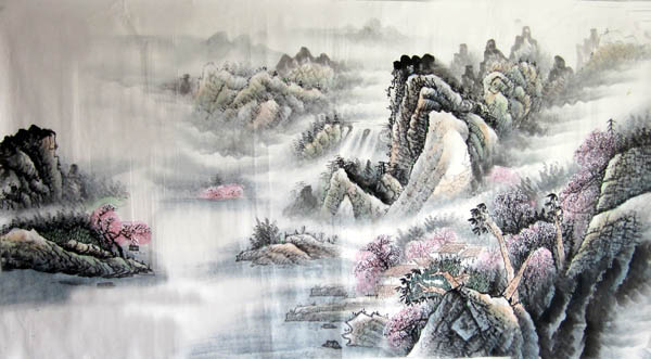 阳朔旅游纪念品之桂林山水画46