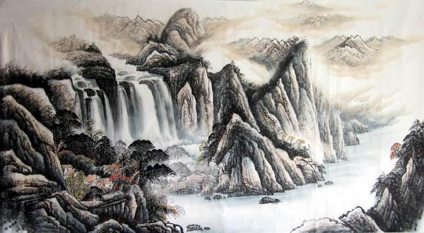 桂林旅游纪念品之桂林山水画42