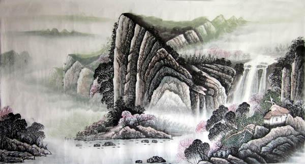 阳朔旅游纪念品之桂林山水画44