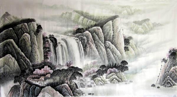桂林旅游纪念品之桂林山水画43