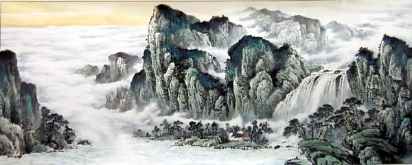 阳朔旅游纪念品之桂林山水画49