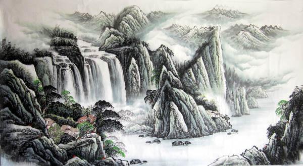阳朔旅游纪念品之桂林山水画48
